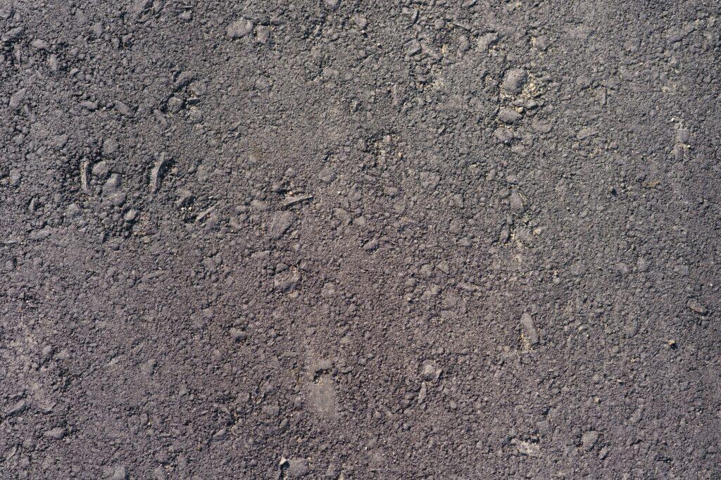 Gray asphalt texture